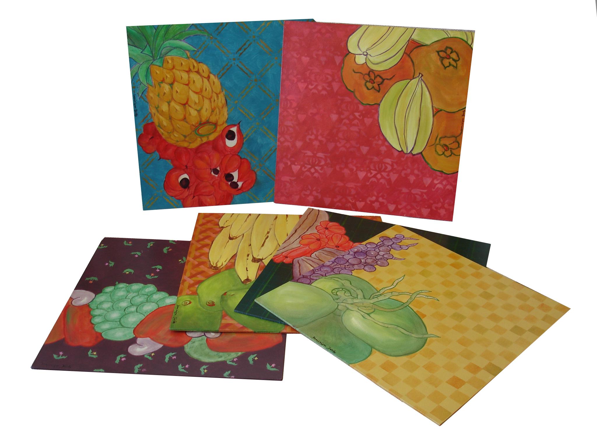 Série Frutas Tropicais